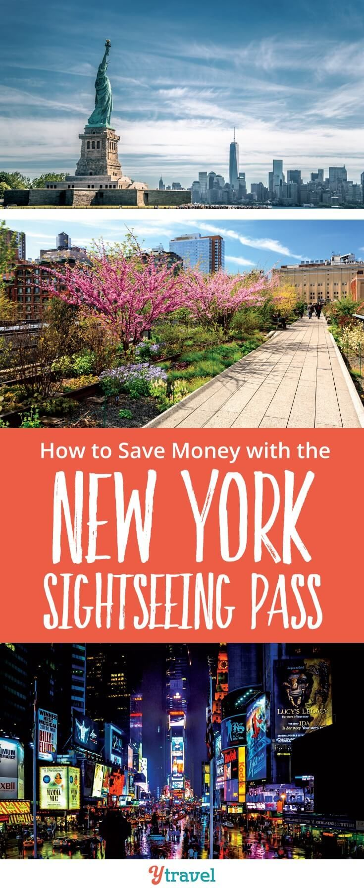 How to save money in New York with the New York Sightseeing pass. We share if the New York attraction passes are worth it and how to get the most out of them when you visit New York City #NYC #NewYork #travel #NY