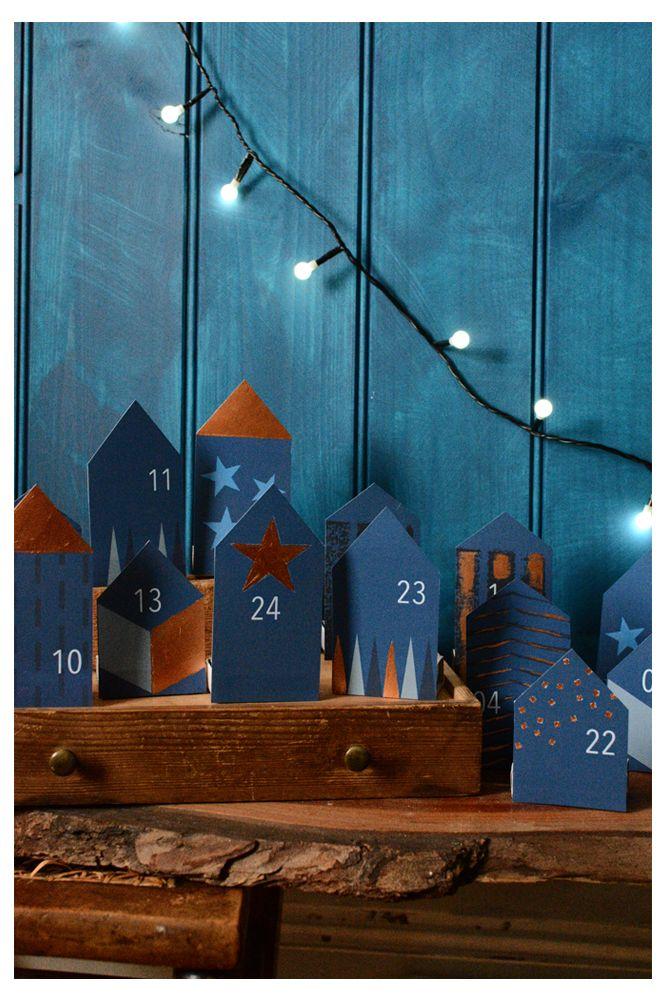 Free Printable DIY Advent Calendar