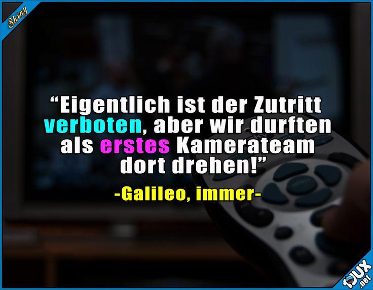 Na ob das alles auch stimmt? : #Galileo #Pro7 #ProSieben #Fernsehen