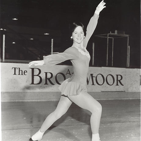 Dorothy Hamill trained at the Skating Club of New York's Sky Rink on 33rd Street in midtown Manhattan.