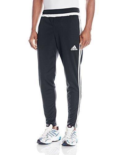 adidas Performance Men's Tiro Training Pant X-Large Dark Grey/White/Dark Shale