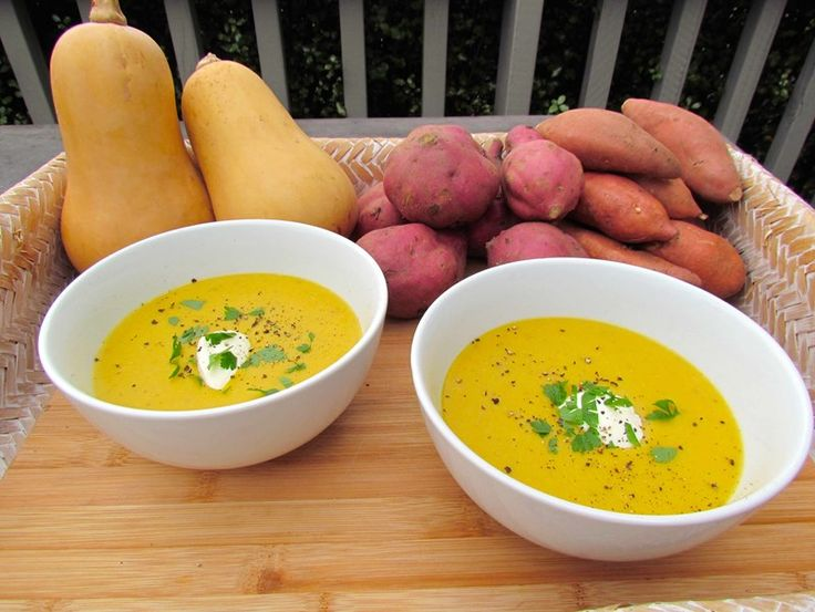 Our Spicy Kumara and Butternut Soup recipe is easy to make and easier to eat!