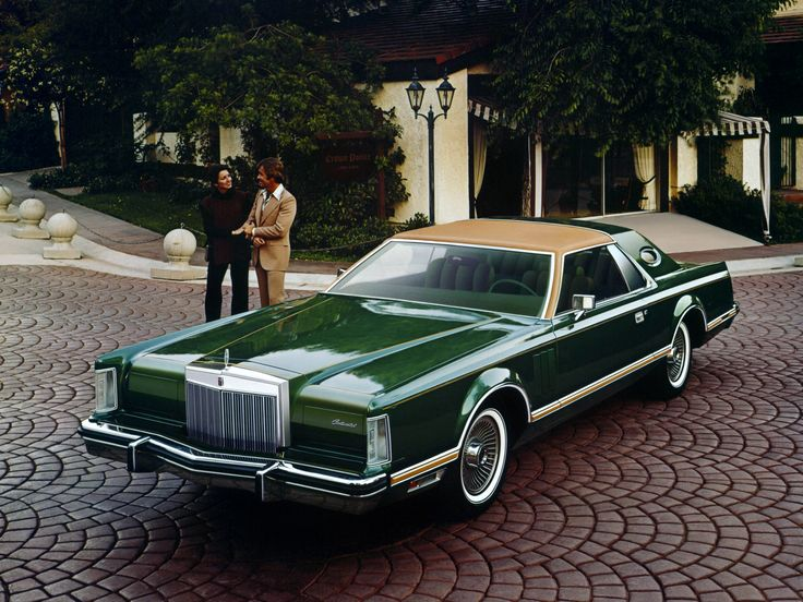 "Lincoln Continental Mark V ""Givenchy Edition"" 1977."