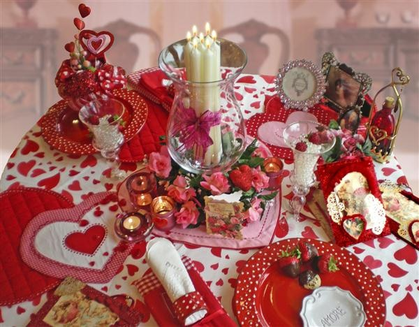 lovely valentines table decoration ideas with cheerful red theme valentine table setting also love ornament design for cute valentine table decoration