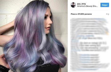 Geode Hair. I capelli arcobaleno ispirati alle pietre semipreziose  http://www.vanityfair.it/beauty/trend/17/04/04/capelli-colorati-arcobaleno-geode-unicorn-tendenza-estate-2017