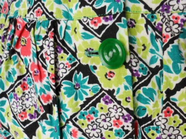 Kitty's Vintage Ltd: 1980s tropical print shirt