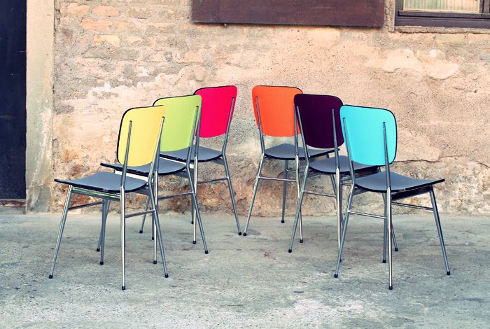 134 best formica images on pinterest for Chaise formica