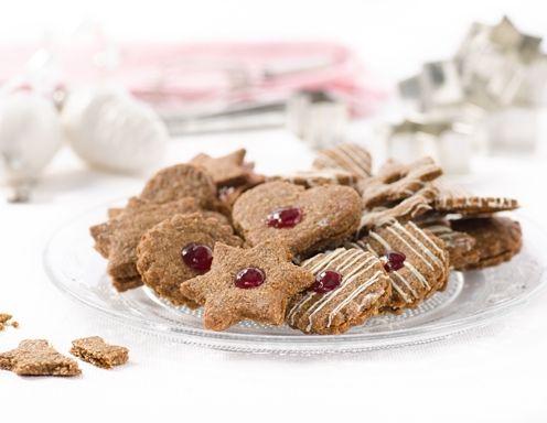 Kekse aus Einkorn-Vollkorn-Mürbteig