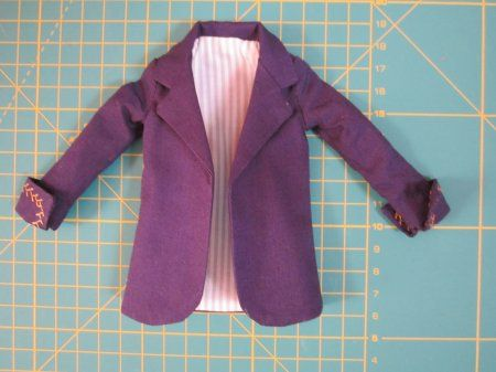 Пиджак для куклы Барби или любой другой куклы – интересный мастер-класс
