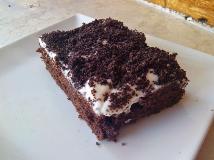 Saboreando-delicias: Poke cake de oreo