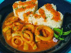 Calamares en salsa americana olla GM