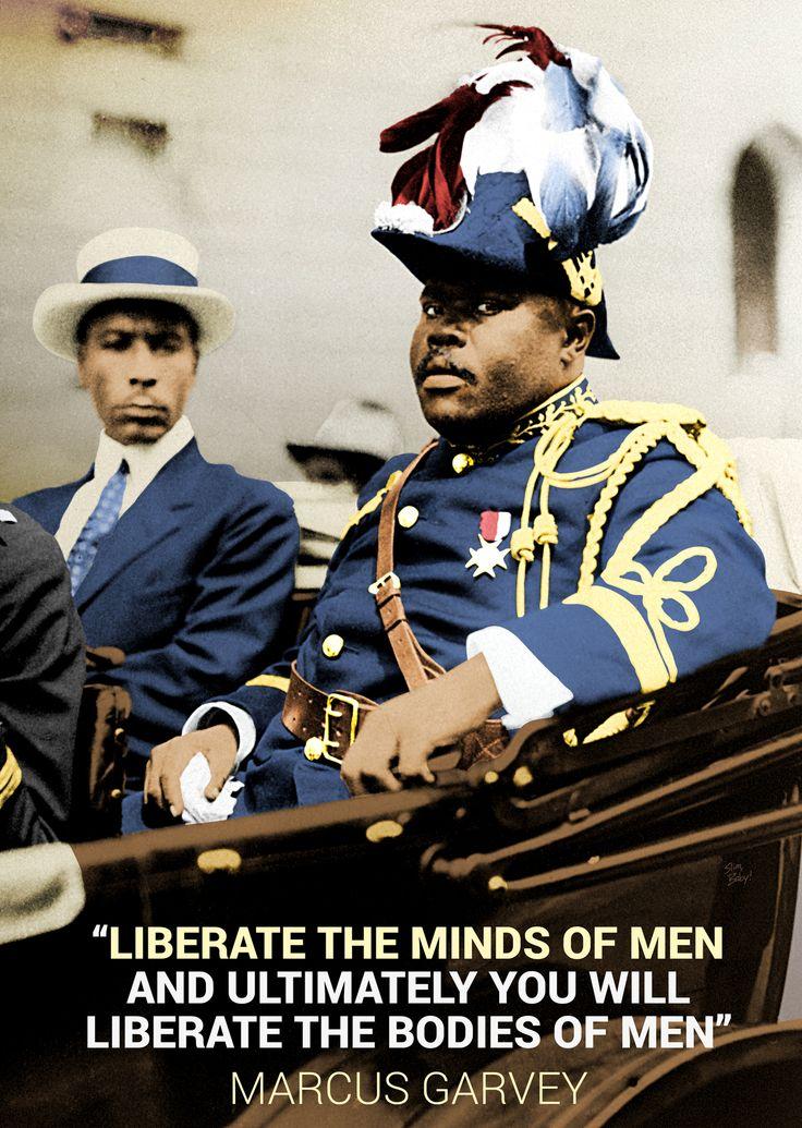 Marcus Garvey 2014#BlackHistory Art Series 2k14 (Day 2)