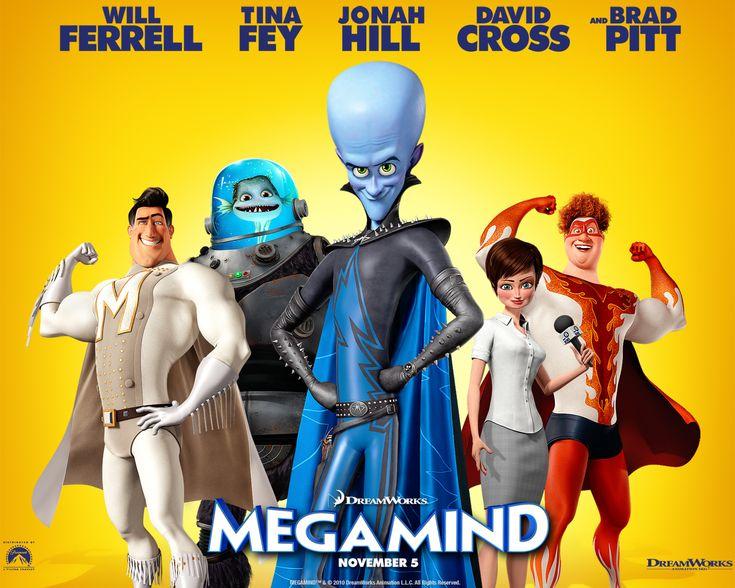 """MEGAMENTE"" (2010) ♣ Ver Online: http://miralogratis.com/ver-pelicula-megamente-online.html"