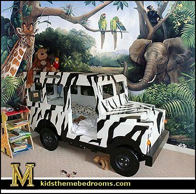 Jungle rainforest theme bedroom decorating ideas and jungle theme decor