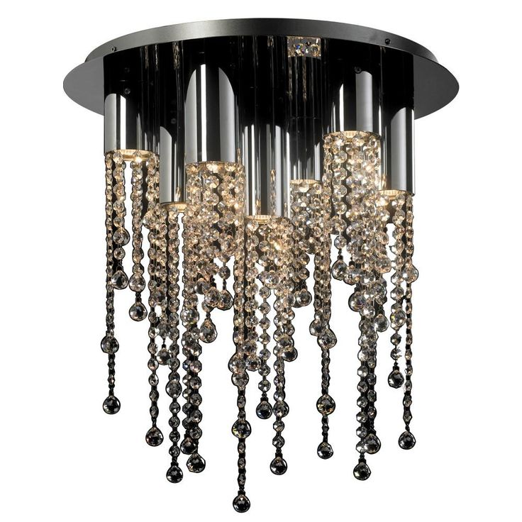 7 light ceiling light trento collection