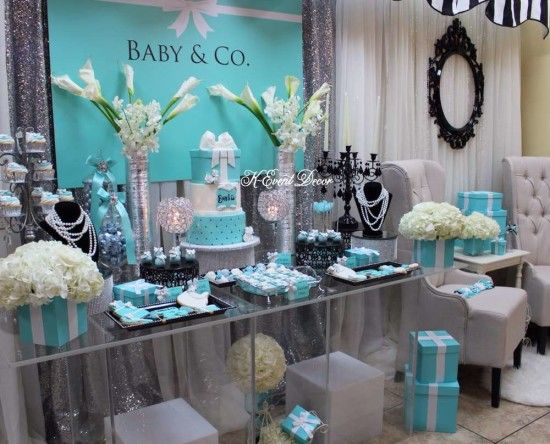 Baby And Co Baby Shower Dessert Table Ideas