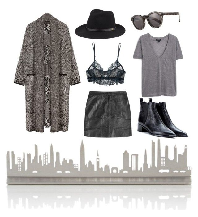 """#8 - City Love"" by sannah7 on Polyvore featuring Valerie Atkisson, Only Hearts, Illesteva, Zadig & Voltaire, MANGO, Acne Studios, rag & bone, mango, NYC and acne"