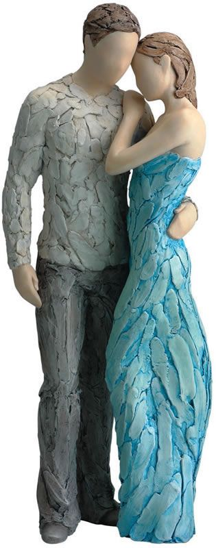 Forever Yours- Turquoise, Family-Sculptures-Statues, 975MTW-FYOU - AllSculptures.com