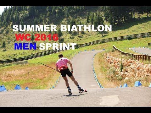 Summer Biathlon World Championship 2016 SPRINT MEN - YouTube