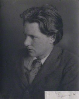 Rupert Brooke 1913, unknown photographer, National Portrait Gallery London