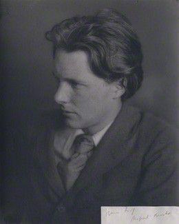 Rupert Brooke 1913, unknown photographer, National Portrait Gallery London