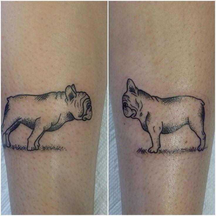 My French Bulldog tattoo