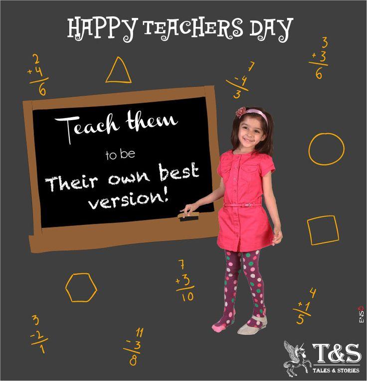 Happy Teachers Day! #talesandstories #kidswear