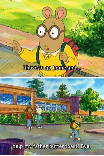 Arthur's excuse