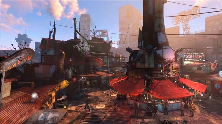Fallout 4 Settlements Wallpaper HD