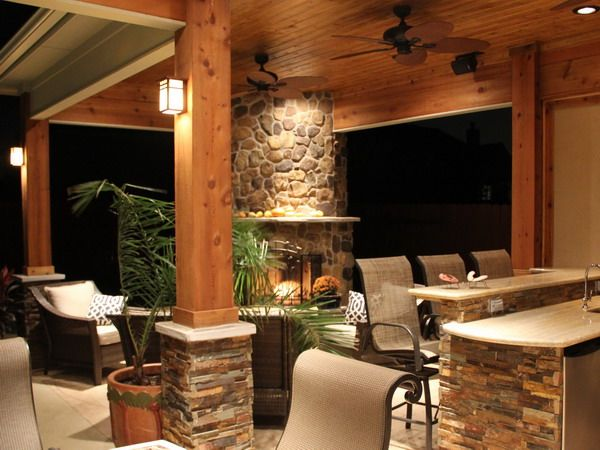 stone backyard covered patio with shutters google search ideas for the house pinterest patios backyard covered patios and outdoor living - Best Patio Designs