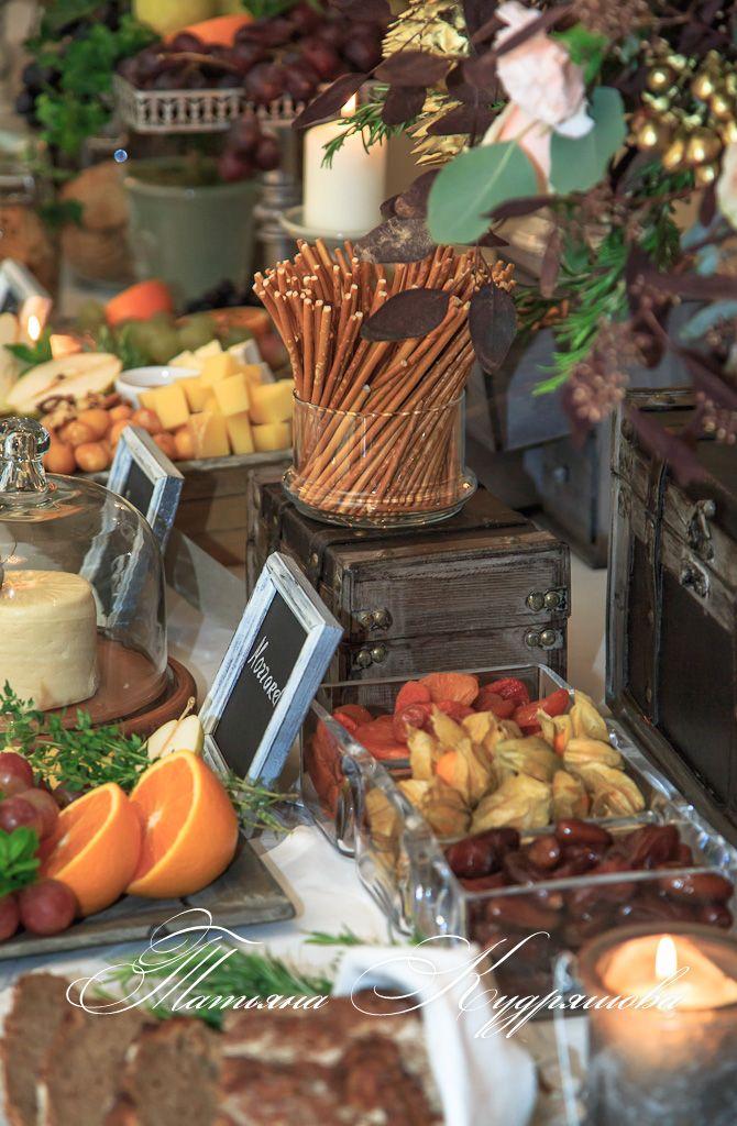 Сырный стол на свадьбе