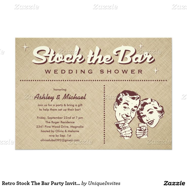 8 best Couples Wedding Shower Invitations images on Pinterest | Text ...