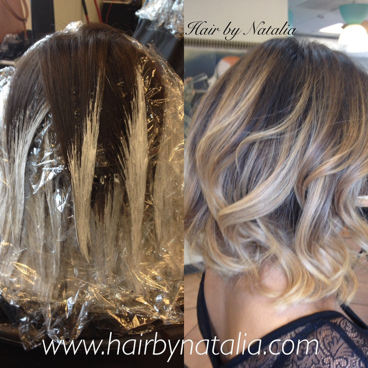 11 best diy balayage images on pinterest balayage hair hair ombre brown to blonde short medium haircut hairstyle bleaching find this pin and more on diy balayage solutioingenieria Image collections