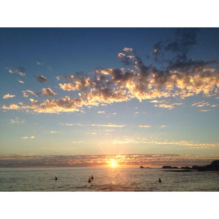 Sunset at Glenn Beach - Cape Town