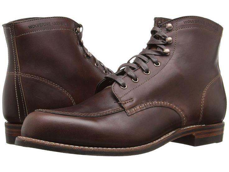 WOLVERINE WOLVERINE - COURTLAND (BROWN) MEN'S WORK BOOTS. #wolverine #shoes  #