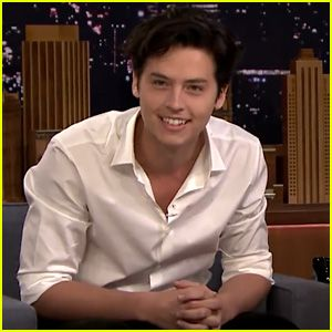 Cole Sprouse Shares Adorable Photos From His First 'Tonight Show' Appearance – Watch Now!