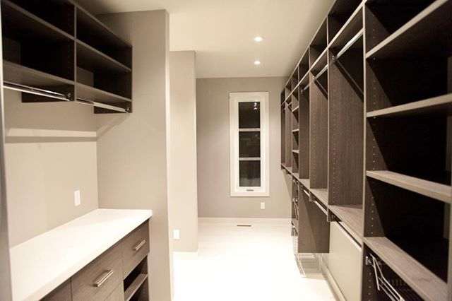 With closets however you like them an Ironstone Custom Home does not encourage hoarding but it also does not prevent it either.  #BuildDifferent #YQR #DreamHome #ModernHome #CustomBuild #CustomHomes #quality #modern #original #home #design #imagine #creative #style #realestate #trueoriginal #architecture #dreamhomes #interior #YQRbuilds #construction #house #builder #homebuilder #showhome #beautiful #preparation #engagement #dream #DamnGoodHouses