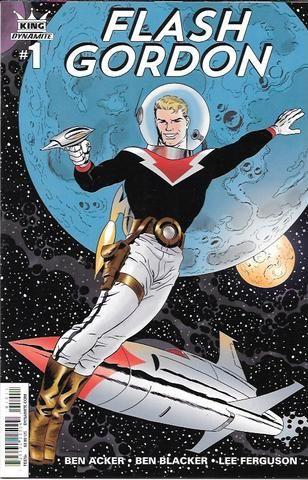 King:Flash Gordon # 1 Dynamite Entertainment First Print