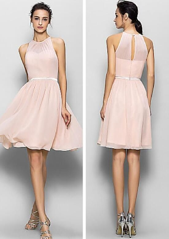 Blush pink bridesmaid dresses, short bridesmaid dresses, inexpensive bridesmaid dresses, custom bridesmaid dresses, Custom bridesmaid dresses, 17003 sold by OkBridal. Shop more products from OkBridal on Storenvy, the home of independent small businesses all over the world.