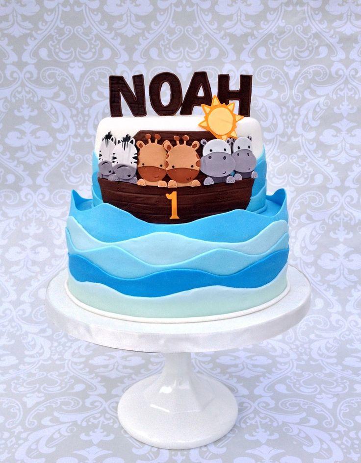 Noah's Ark Cake  on Cake Central