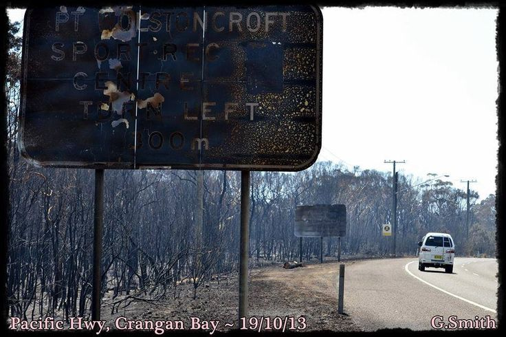 NSW Bushfire Emergency throughout October 2013 #NSWFires