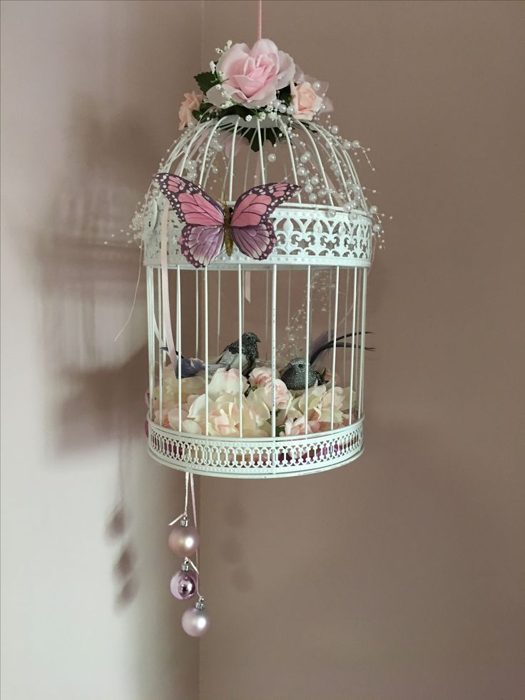 My decorated Bird Cage!