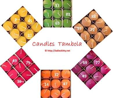 Candles Tambola Game