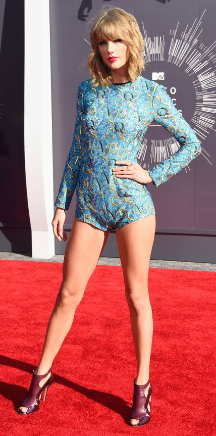 Nailed it! Video Music Awards 2014 Red Carpet Arrivals - Taylor Swift from #InStyle
