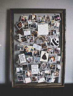 Récupérer un vieux cadre pour exposer vos plus belles photos! 12 idées à voir! - Décoration - Des idées de décorations pour votre maison et le bureau - Trucs et Bricolages - Fallait y p