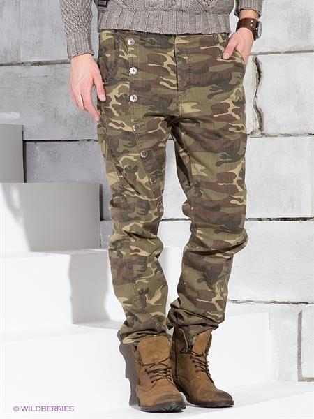 Мужские джинсы хаки