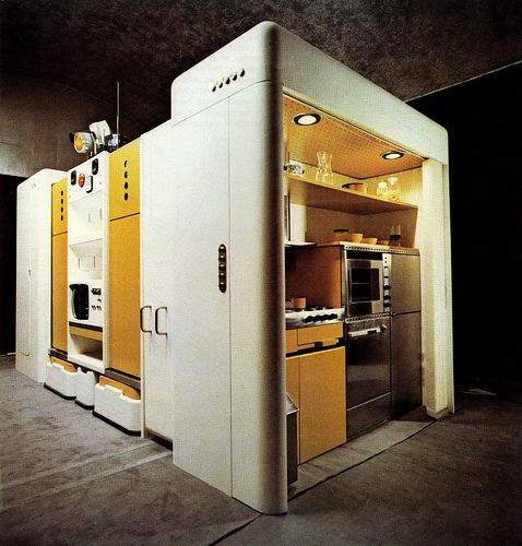 Total Furnishing Unit By Joe Colombo Cocina Modular Pinterest Furniture Design And Home