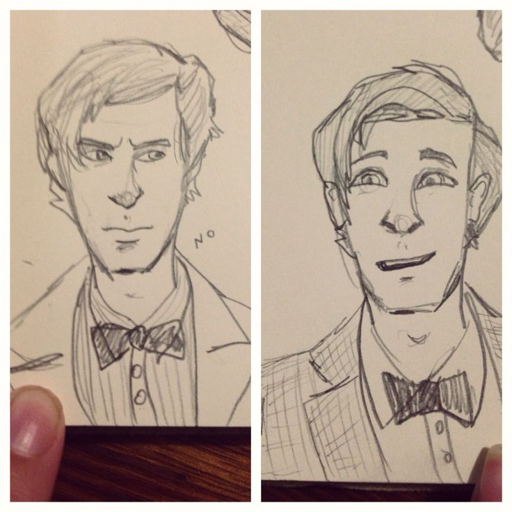 Little eleventh doctor doodles.