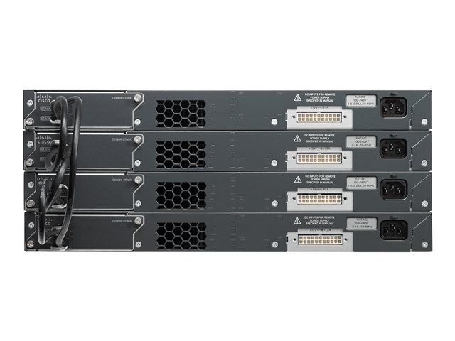 Cisco Catalyst 2960X-48TS-L – Switch – managed – 48 x 10/100/1000 + 4 x Gigabit SFP – desktop, rack-mountable  Cisco Catalyst 2960-X series switches are fixed-configuration, stackable Gigabit Ethernet switches that provide enterprise-class access for campus and branch applications. Designed for operational simplicity to lower total cost of ownership, they enable scalable, secure and energy-efficient business operations.