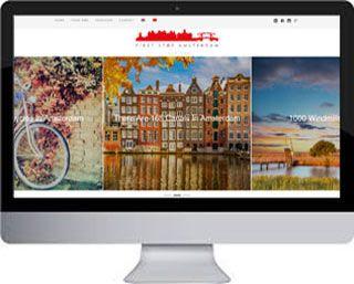 Een tweetalige website FirststopAmsterdam - WordPress website Amsterdam, WordPress cursus, webdesign en SEO